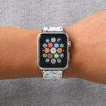 "Cute Nurse pattern apple watch band<br><div class=""desc"">design by www.etsy.com/Shop/DoodlesFirst</div>"