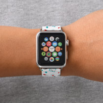Cute Nurse pattern apple watch band