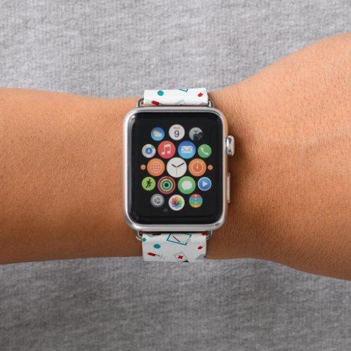 Cute Nurse pattern apple watch band
