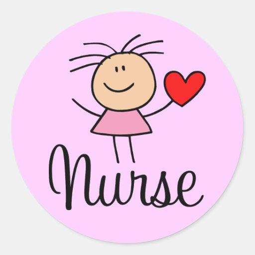 Cute Nurse Sticker