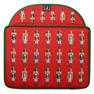 Cute Nutcracker Toy Soldiers Army MacBook Pro Sleeve