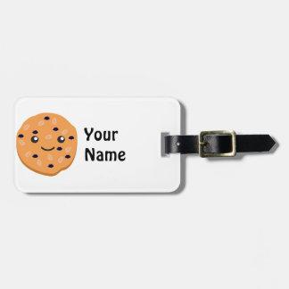 Cute Oatmeal Raisin Cookie Bag Tag