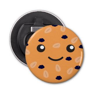 Cute Oatmeal Raisin Cookie Bottle Opener