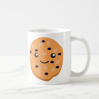 Cute Oatmeal Raisin Cookie Coffee Mug