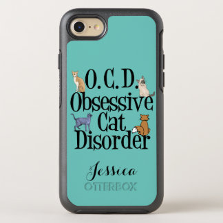 Cute Obsessive Cat Disorder OtterBox Symmetry iPhone 8/7 Case