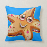 cute ocean starfish pillow