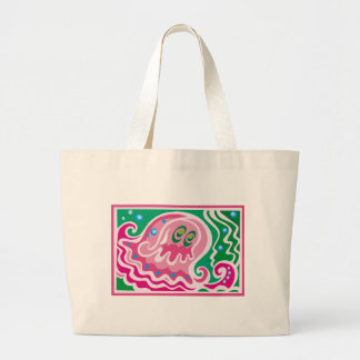 Cute Octopus Art Canvas Bag