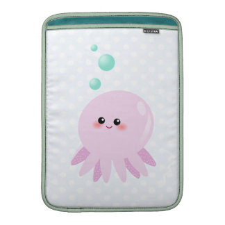 Cute octopus cartoon MacBook air sleeve