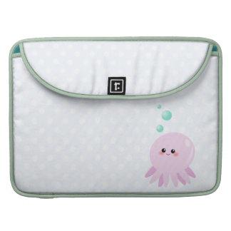Cute octopus cartoon sleeves for MacBook pro