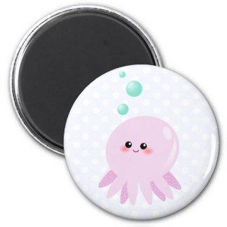 Cute octopus cartoon refrigerator magnet