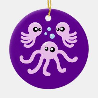 Cute Octopus Ceramic Ornament