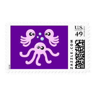 Cute Octopus Postage