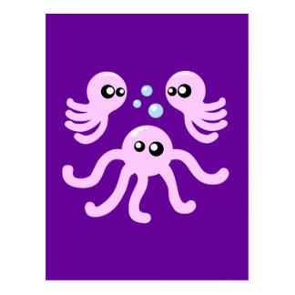 Cute Octopus Postcard