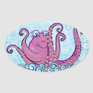 Cute Octopus sticker
