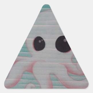 Cute Octopus Triangle Sticker