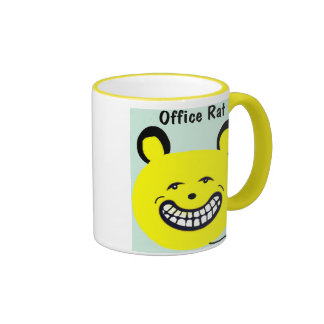 Cute Office Coffee Mug that says Office Rat