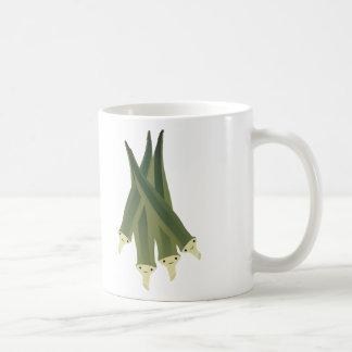Cute Okra Coffee Mug