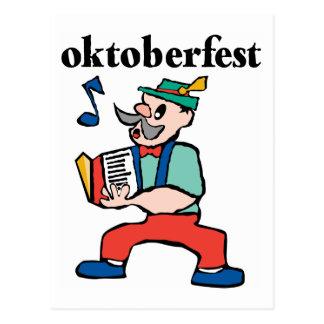 Cute Oktoberfest Gift Postcard