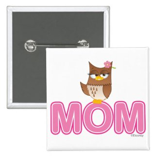 Cute Olivia VonHoot Cartoon for Mom Pin