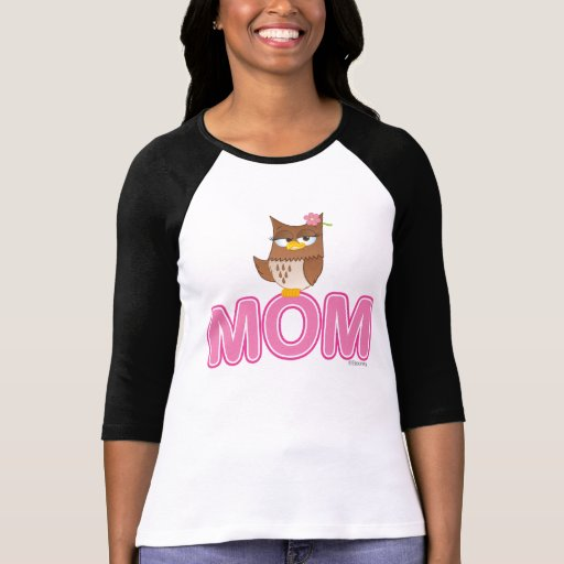 Cute Olivia VonHoot Cartoon for Mom - T-Shirt