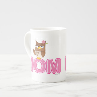 Cute Olivia VonHoot Cartoon for Mom Tea Cup