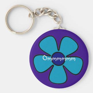 Cute Om Keychain - Yoga Gifts
