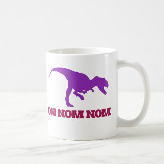 Cute Omnom Dinosaur Coffee Mug