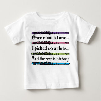 Cute Once Upon A Time Flute Baby T-Shirt