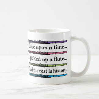 Cute Once Upon A Time Flute Coffee Mug