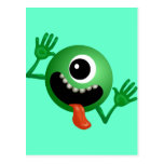Cute One Eyed Monster Post Cards