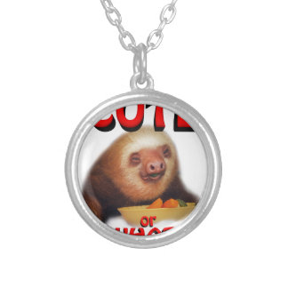 cute or what personalised necklace