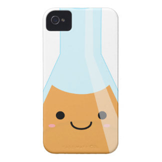 Cute orange alchemy kawaii flask iPhone 4 case