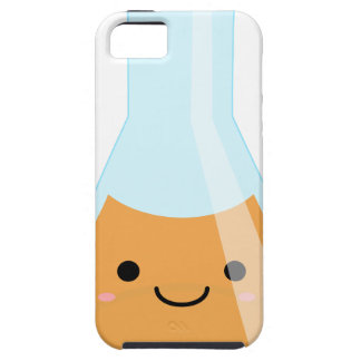 Cute orange alchemy kawaii flask iPhone SE/5/5s case
