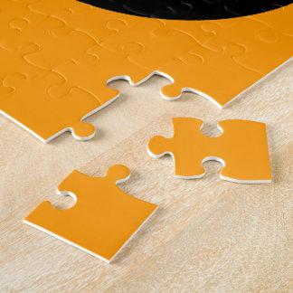 Cute Orange and Black Bird Puzzles