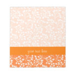 Cute orange and white autumn berries memo notepad
