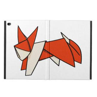 Cute Orange and White Origami Fox Powis iPad Air 2 Case