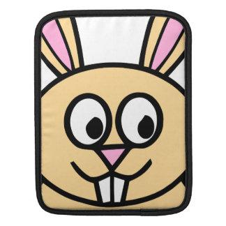 Cute Orange Bunny Rabbit iPad Sleeve