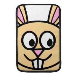 Cute Orange Bunny Rabbit MacBook Sleeve