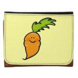 cute orange carrot wallet