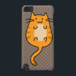 "Cute Orange Cat iPod Touch (5th Generation) Case<br><div class=""desc"">This is cute cat art that makes the perfect gift.</div>"