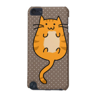 Cute Orange Cat iPod Touch (5th Generation) Case