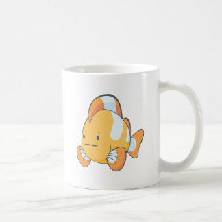 Cute Orange Clownfish Cartoon Shirt Classic White Coffee Mug