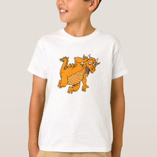 Cute Orange Dragon T-Shirt