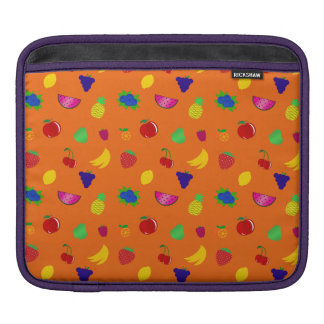 Cute orange fruits pattern sleeves for iPads