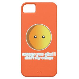 Cute Orange iPhone SE/5/5s Case