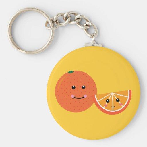 Cute Orange Key Chain