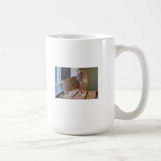 Cute Orange Kitten Coffee Mug
