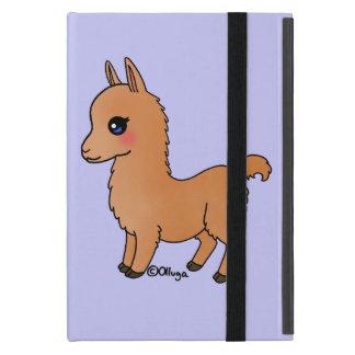 Cute Orange Llama Case For iPad Mini