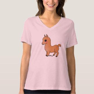 Cute Orange Llama T Shirt