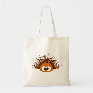 Cute Orange Spiny Sea Urchin Tote Bag